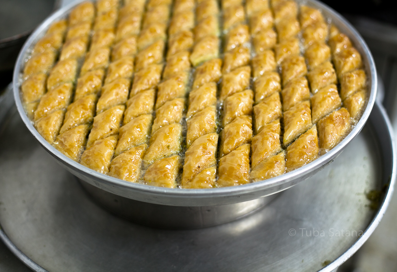 after syrup, waiting, baklava