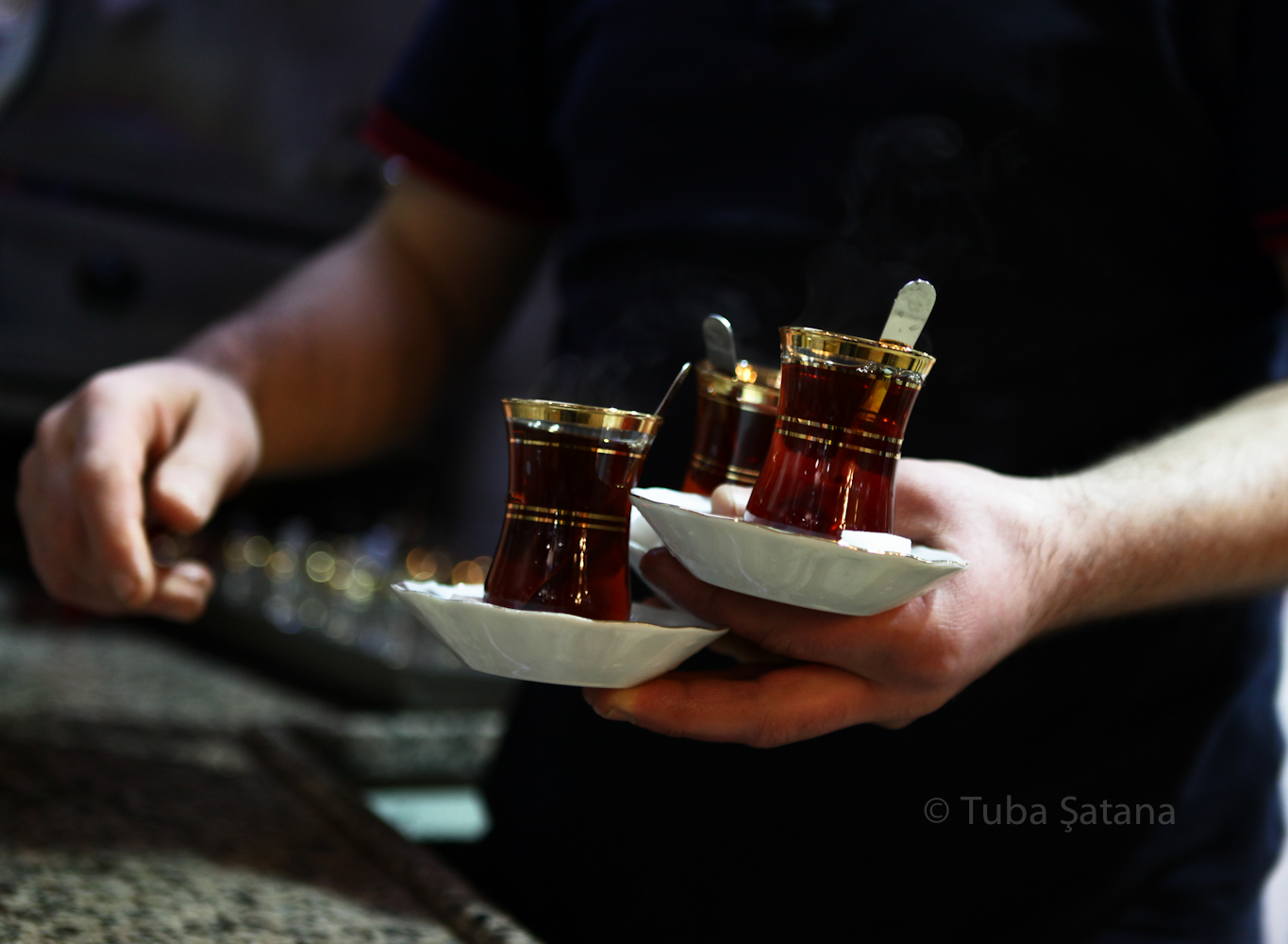 Turkish tea 5, by Tuba Şatana